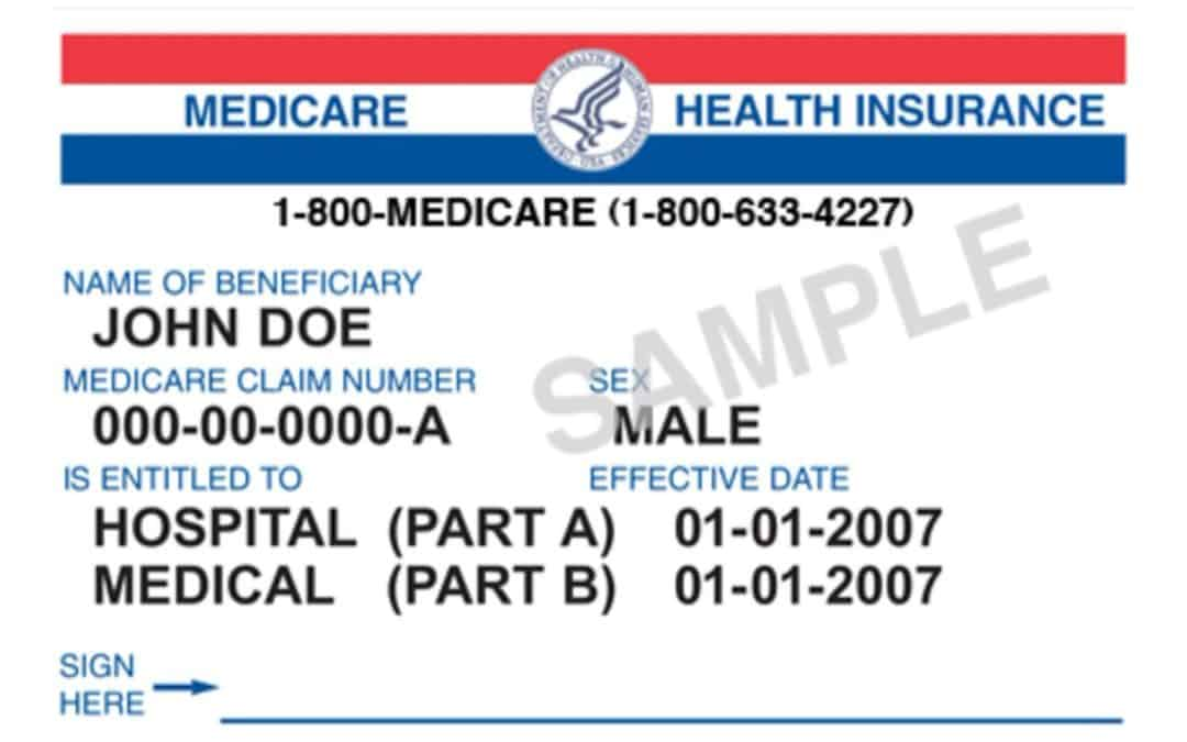 New Medicare Cards are coming in 2018